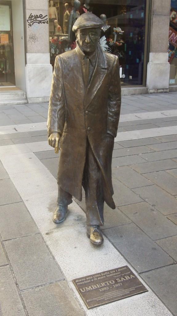 Trieste's poet laureate, Umberto Saba.